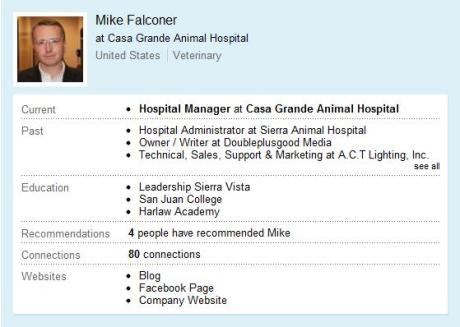 Mike's LinkedIn Profile